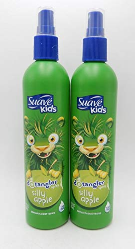 Suave - Suave Kids Apple Detangler Spray, 10.5 Fl. Oz, 2 Count