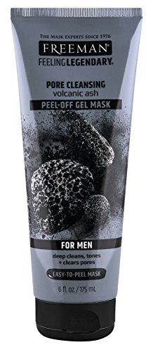 Ph Beauty-Freeman - Freeman Mens Pore Cleansing Gel Mask Peel Off 6 Ounce (175ml) (6 Pack)