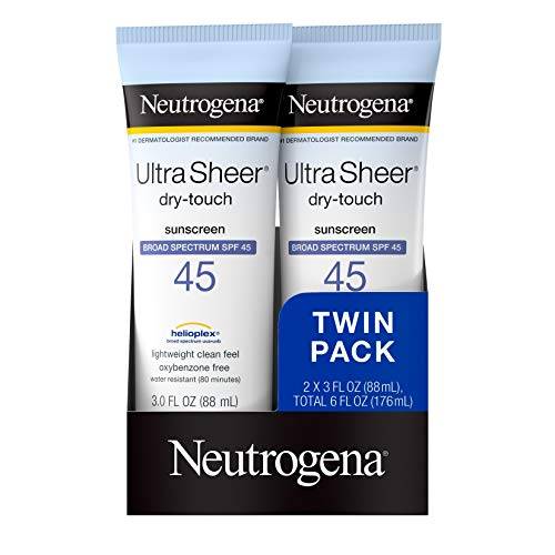 Neutrogena - Ultra Sheer Dry-Touch Water Resistant Sunscreen SPF 45