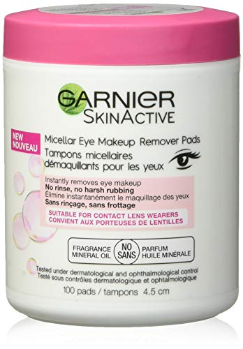 Garnier - Micellar Eye Makeup Remover Pads Facial Treatment