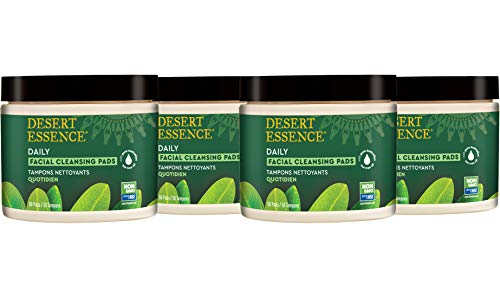 Desert Essence - Tea Tree Oil Facial Cleansing Pads