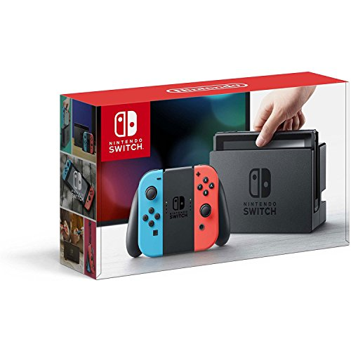 Nintendo - Nintendo Switch – Neon Red and Neon Blue Joy-Con