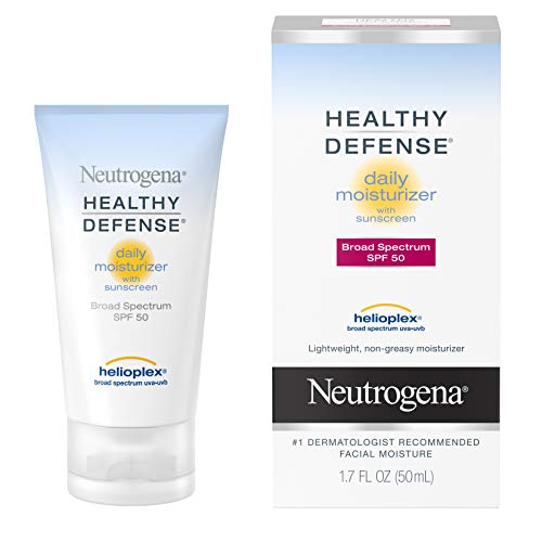 Neutrogena - Healthy Defense Daily Moisturizer with SPF 50 and Vitamin E