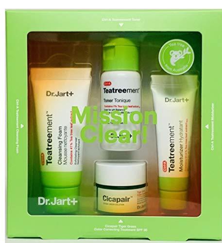 Dr.Jart+ - Dr. Jart Mission Clear Teatreement Skin Clearing Ritual 4 Piece Kit