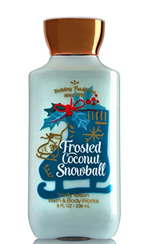 amazon.com - Bath and Body Works Frosted Coconut Snowball Body Lotion 8 Ounce Full Size