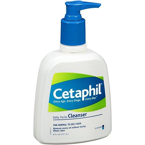 Cetaphil - Cetaphil Daily Clnsr 8oz Size 8z Cet Daily Clnsr 8oz 8z