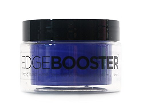 Style Factor - Edge Booster Strong Hold Water-Based Pomade, Blueberry Scent