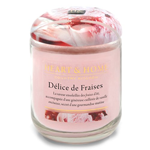 Home Heart - Jar Candle, Strawberry Ice Cream
