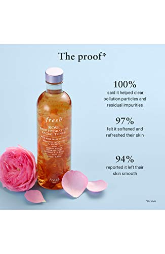 Fresh - Fresh Rose Deep Hydration Facial Toner/Water 3.3 oz / 100 ml