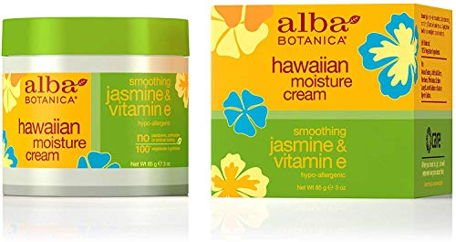 Alba Botanica - Alba Botanica Hawaiian Moisture Cream, Soothing Jasmine & Vitamin E 3 oz (Pack