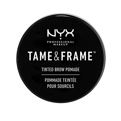 NYX - NYX PROFESSIONAL MAKEUP Tame & Frame Brow Pomade, Black, 0.18 Ounce