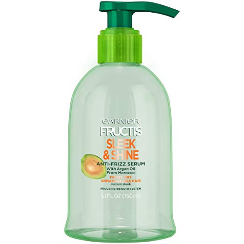 Garnier - Garnier Fructis Sleek & Shine Shampoo, Conditioner & Anti-Frizz Serum