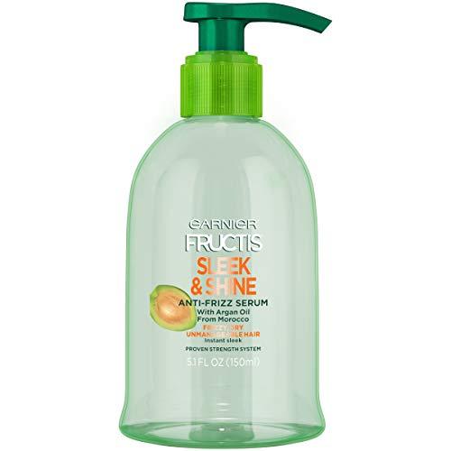 Garnier - Sleek & Shine Anti-Frizz Serum, Frizzy, Dry, Unmanageable Hair