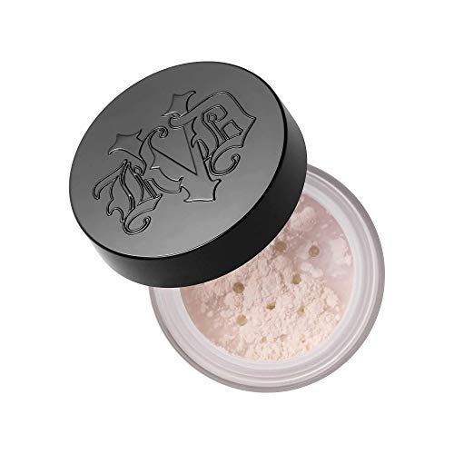 Kat von d - Kat Von D Lock-It Setting Powder Travel Size 0.049oz Translucent Natural Finish