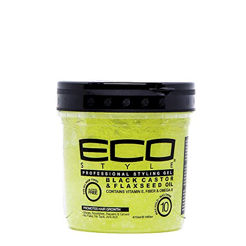 Ecoco - Ecoco Eco Style Gel - Black Castor Flaxseed Oil 16 Oz