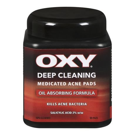 Oxy OXY® Deep Cleaning Medicated Acne Pads, 90PADS