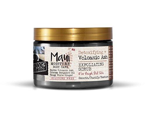 Maui Moisture - Maui Moisture Body Care Detoxifying Volcanic Ash Body Scrub, 12 Ounce Jar