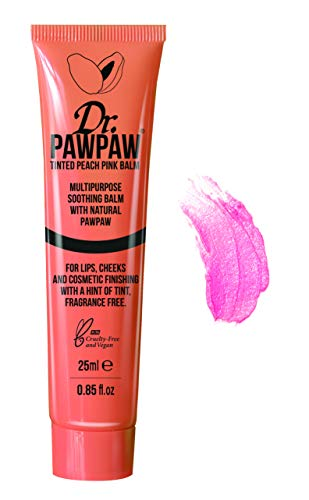 Dr. PAWPAW ORIGINAL BALM - Dr. Pawpaw Multi-Purpose Balm | No Fragrance Balm, for Lips, Skin, Hair, Cuticles, Nails, and Beauty Finishing | 25 ml
