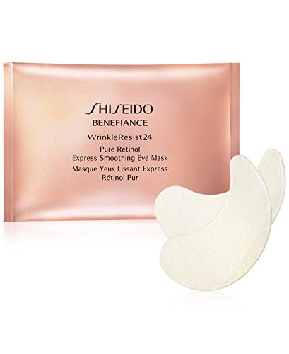 Shiseido - Shiseido Benefiance WrinkleResist24 Pure Retinol Express Smoothing Eye Mask 12 packettes x 2 sheets