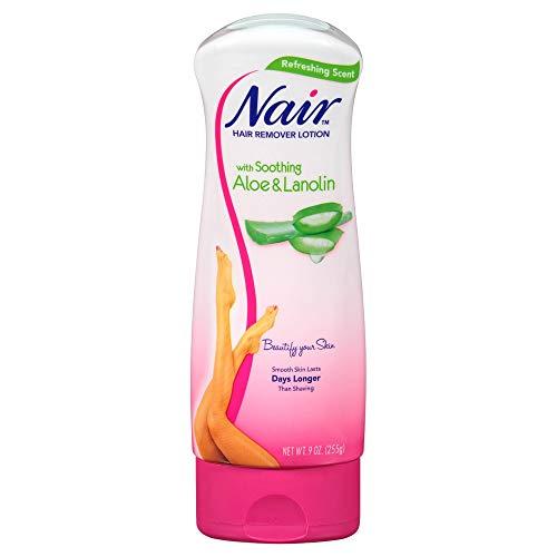 Nair - Nair Lot Aloe Vera (New) Size 9z Nair Aloe Vera Hair Remover Lotion