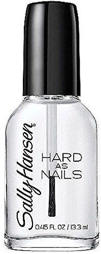 Sally Hansen - Sally Hansen Hard as Nails Nail Polish, Crystal Clear, 0.45 Fluid Ounce