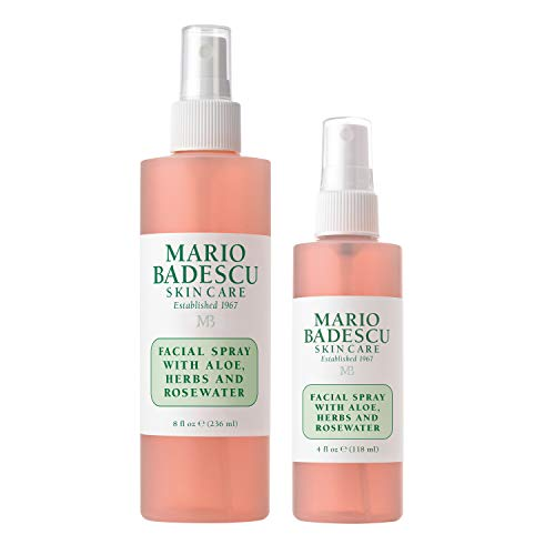 Mario Badescu - Mario Badescu Facial Spray with Aloe, Herbs & Rosewater Duo, 4 oz. & 8 oz.