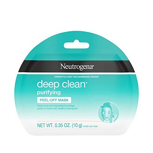 Neutrogena Neutrogena Deep Clean Purifying Peel-Off Face Mask, Oil-Free & Non-Comedogenic Deep Pore Cleansing Single-Use Facial Mask, Single-Use, 1 ct