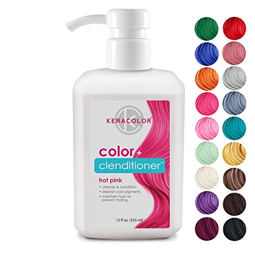 Keracolor - Keracolor Clenditioner Hair Dye (18 colors) Semi Permanent Hair Color Depositing Conditioner, Cruelty-free