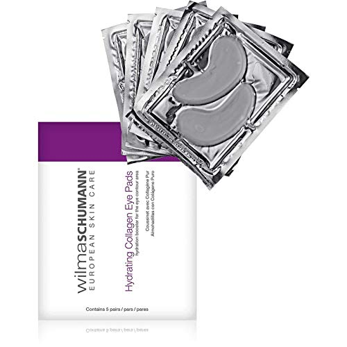 Wilma Schumann WILMA SCHUMANN Hydrating Collagen Eye Pads (5 Application per Package) - Visibly Reduce the Appearance of Fine Lines and Swollen, Tired-Looking Eyes
