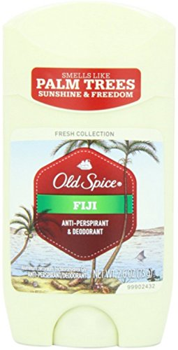 Old Spice - Old Spice Fiji Scent Deodorant, 2.6 Oz (Pack of 4)