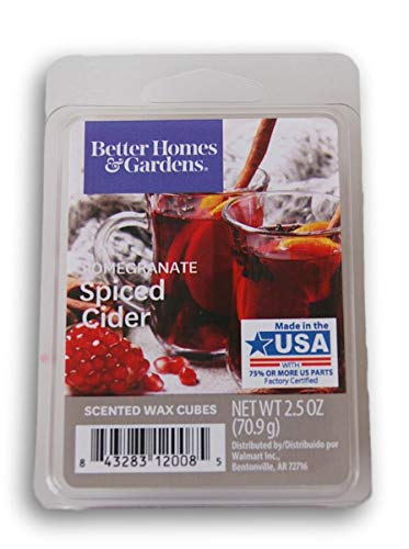 Seasonal Décor - Better Homes and Gardens Scented Wax Cubes - Pomegranate Spiced Cider