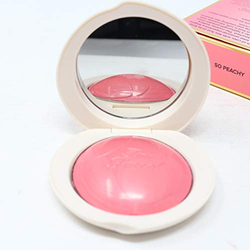 Toofaced - Peach My Cheeks Melting Powder Blush, So Peachy