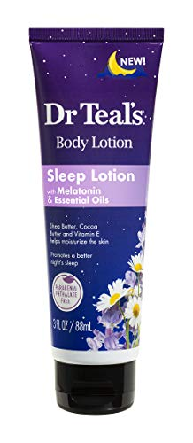 DCP Products Dr Teal's Sleep Lotion 3 Fl Oz with Melatonin & essential Oils
