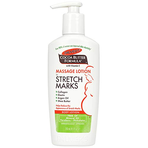 Palmers - Palmer's Cocoa Butter Formula Massage Lotion For Stretch Marks with Vitamin E, Collagen and Elastin, and Shea Butter, 8.5-Ounce Bottles (Pack of 6)