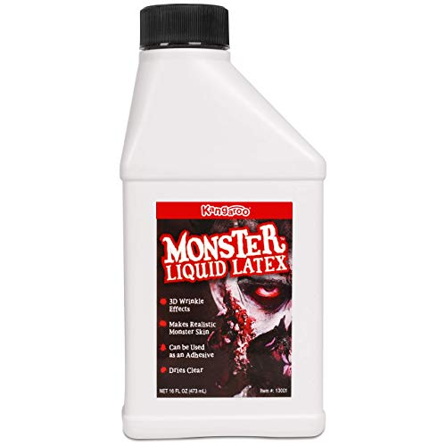 Monster Liquid Latex - Monster Liquid Latex - 16oz Pint - Creates Monster / Zombie Skin and FX