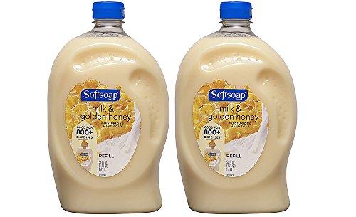 Softsoap - Softsoap Liquid Hand Soap Refill, Milk & Golden Honey, 56 Fluid Ounce (2 Pack)