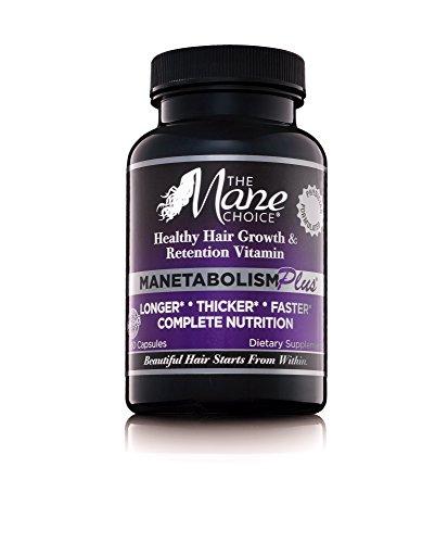 The mane choice - THE MANE CHOICE MANETABOLISM Plus Healthy Hair Growth Vitamins - (60 Capsules)