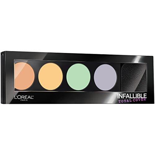 L'Oreal Paris - L'Oreal Paris Cosmetics Infallible Total Cover Concealing and Contour Kit