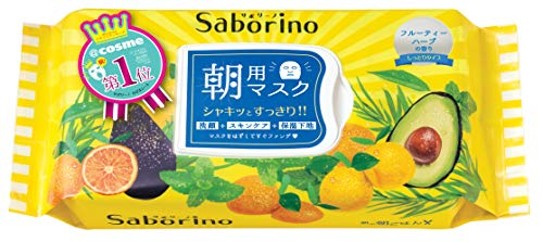 SABORINO - SABORINO Morning Face Mask 32 Sheets, 0.77 Pound