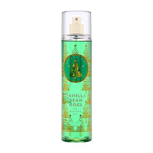 Bath & Body Works - Bath and Body Works Holiday Traditions Vanilla Bean Noel Fine Fragrance Mist, 8.0 Fl Oz