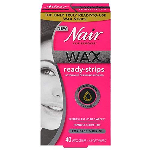 Nair - Nair Hair Remover Wax Ready Strips 40 ea