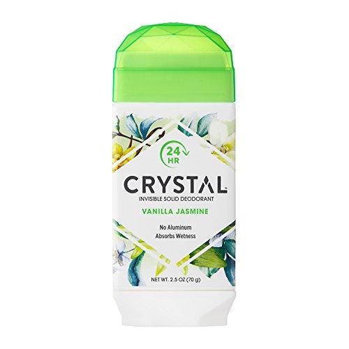 Crystal - Crystal Invisible Solid Deodorant Absorbs Wetness, Vanilla Jasmine, 2.5 Oz