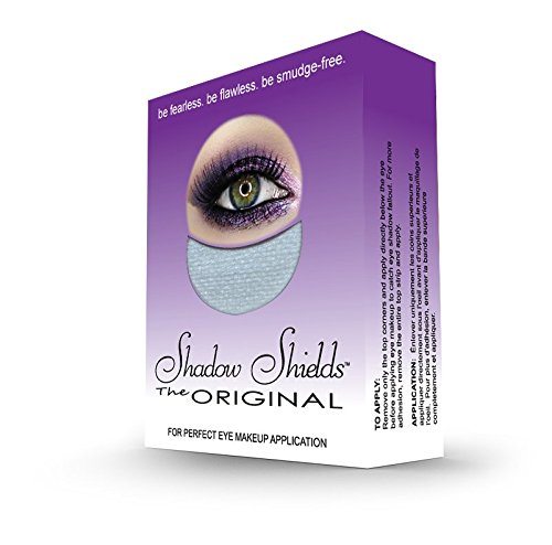 Shadow Shields - Shadow Shields by Michelle Villanueva - 30 Count Box (1 Pack) | The Original Makeup Protection Shield. Be Fearless. Be Flawless. Be Smudge-Free.