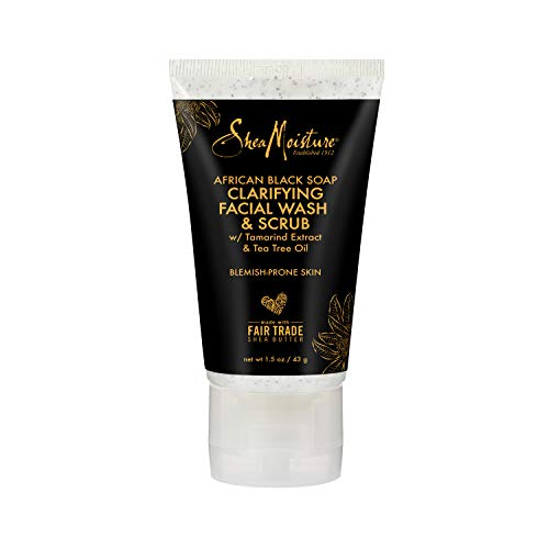 Sheamoisture - African Black Soap Clarifying Facial Wash & Scrub