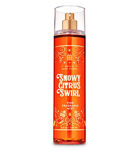Bath & Body Works - Bath and Body Works Snowy Citrus Swirl Fine Fragrance Mist 8 Ounce