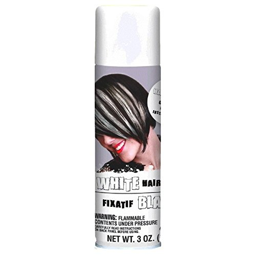 Amscan - Amscan Hair Spray, Party Accessory, White