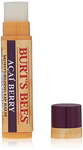 Burts Bees - 100% Natural Moisturizing Lip Balm, Acai Berry