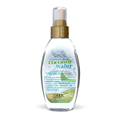 Ogx - Ogx Coconut Water Weightless Hydration Oil 4 Ounce (118ml) (2 Pack)