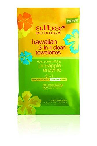 Alba Botanica - Alba Botanica 3 In 1 Hawaiian Towelettes, 10 Count