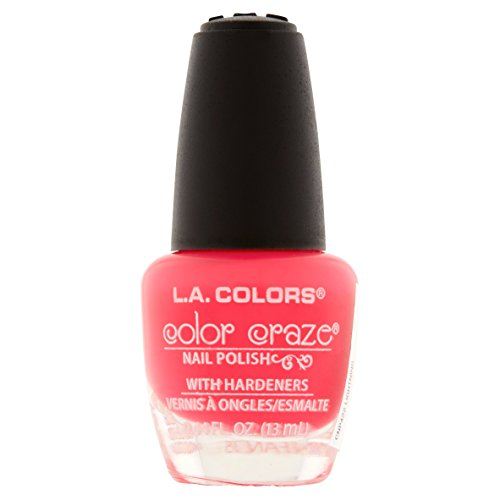 L. A. Colors - 422 Lightning - L.A. Colors Color Craze Nail Lacquer Polish .44 fl oz 13mL